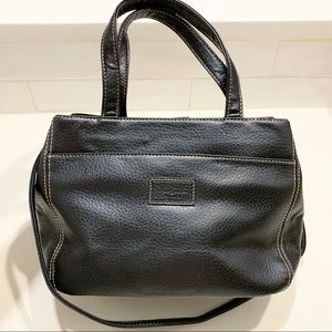 Relic by Fossil || Black Satchel Faux Leather